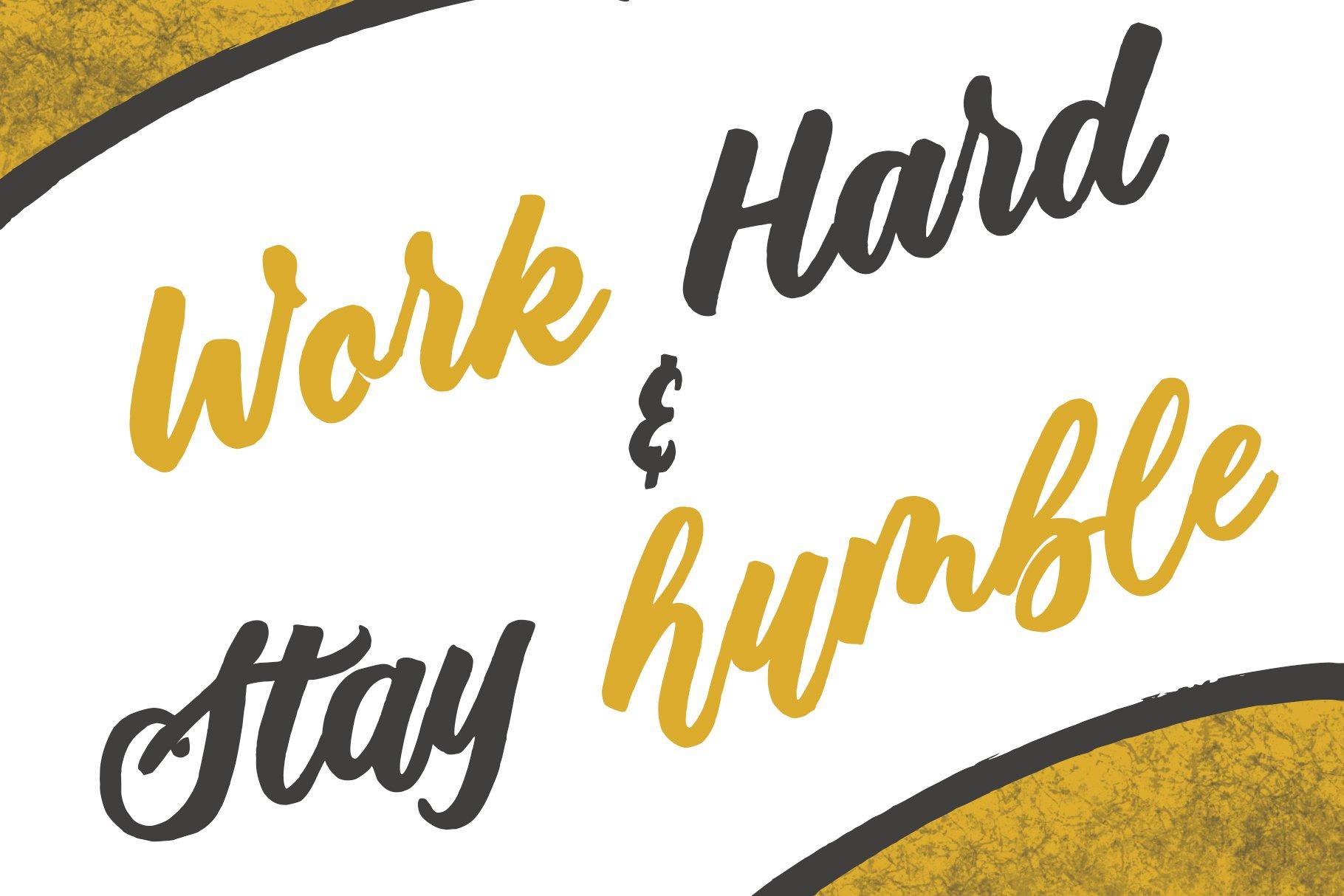 De Sandey || Handbrushed Font example image 9