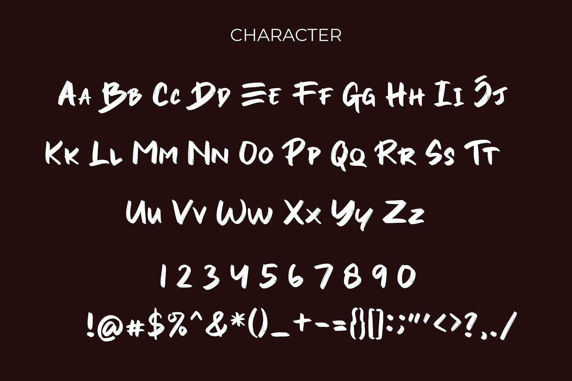 Yesto Dower Brush Font example image 6
