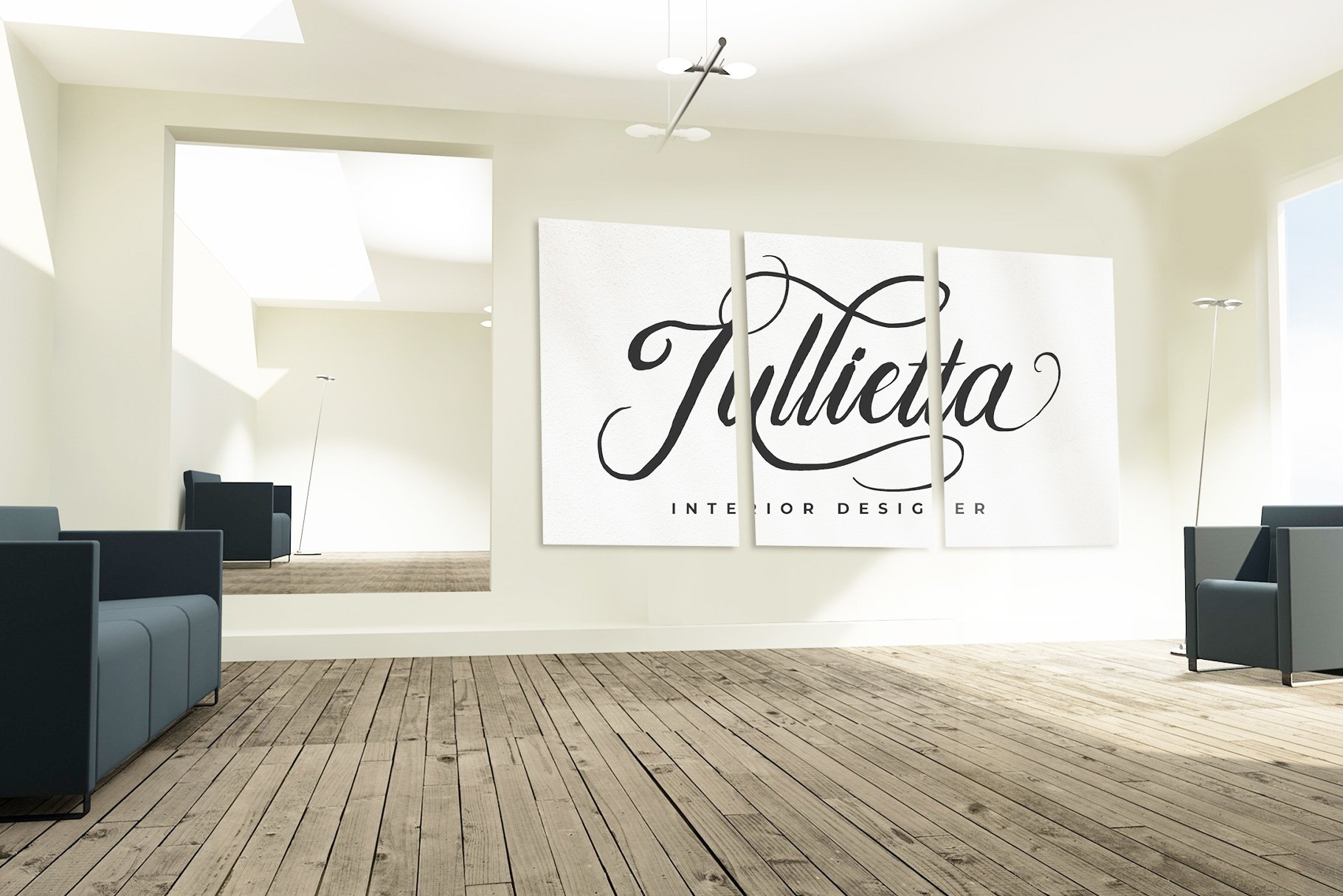 Bulliandry | Modern Calligraphy example image 8