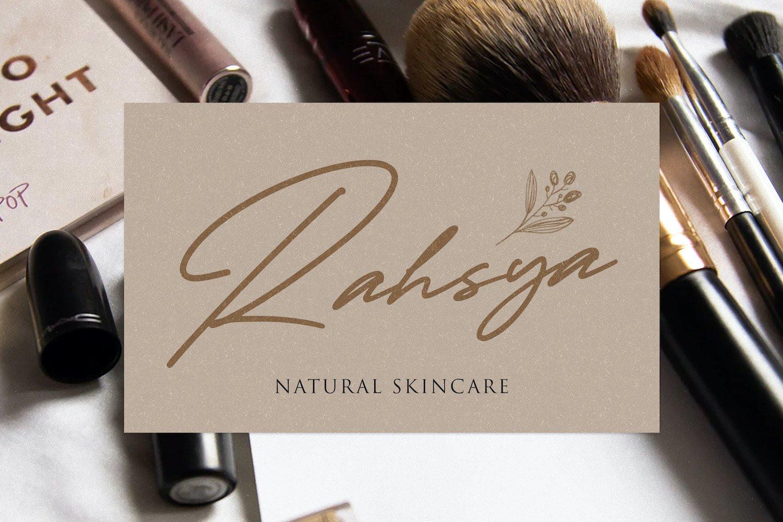 Taniya Relly - Luxury Signature Font example image 6