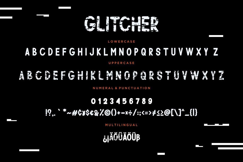 Glitcher Sans Serif Display example image 3