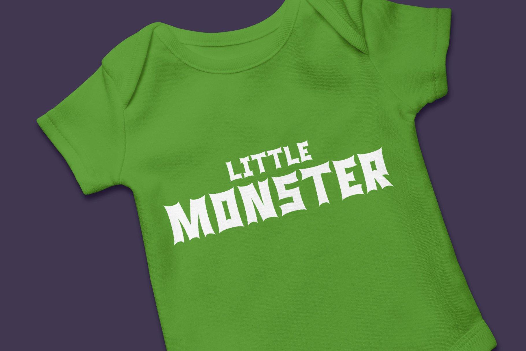 Monster Rock font - Monsta Rocka example image 4