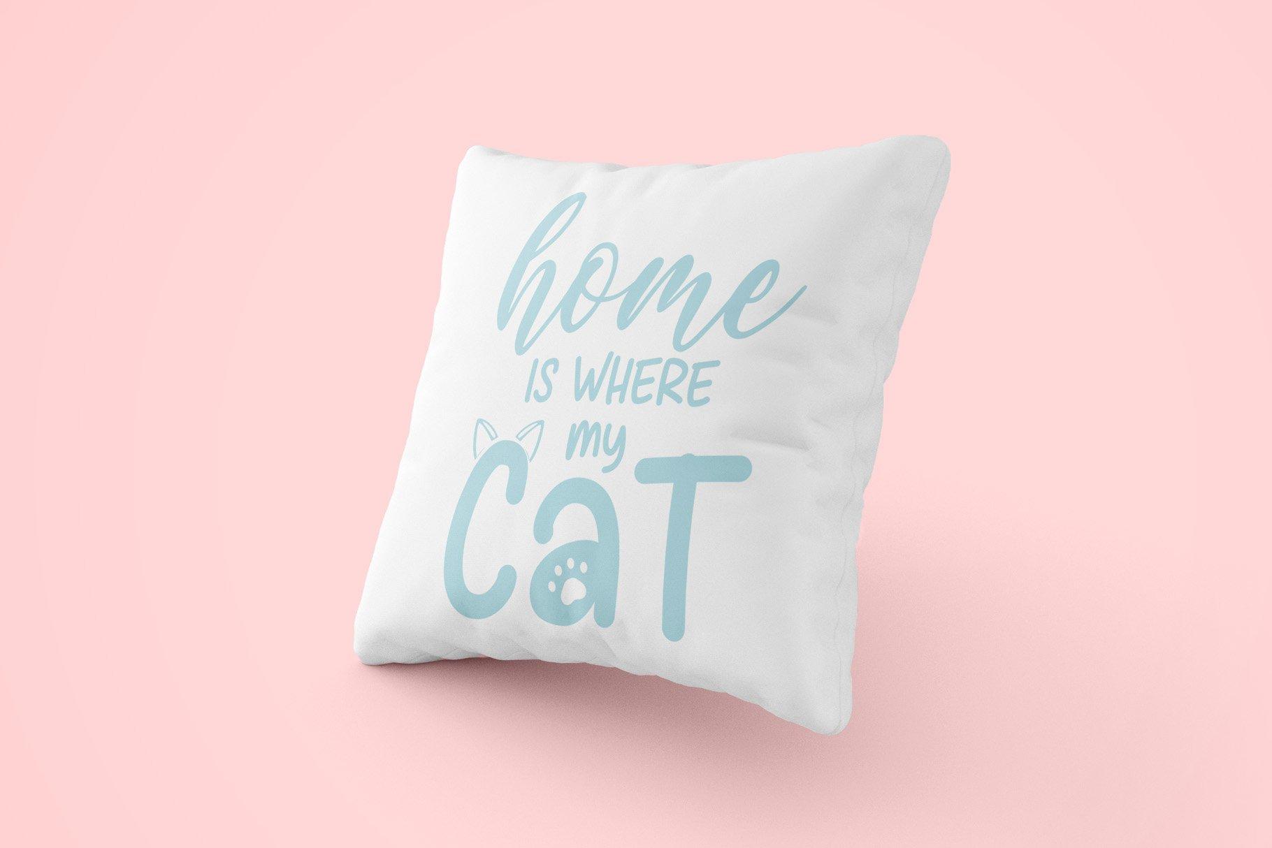 Cat Meow - 3 Font Plus Bonus Clip Arts example image 3