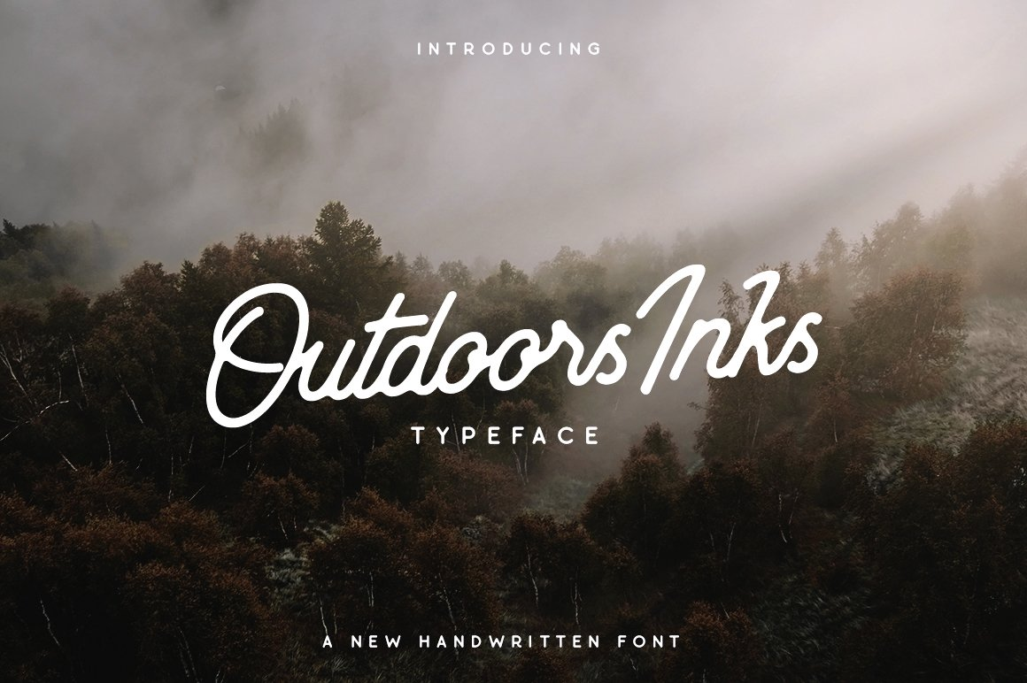 Outdoors Inks Script example image 2