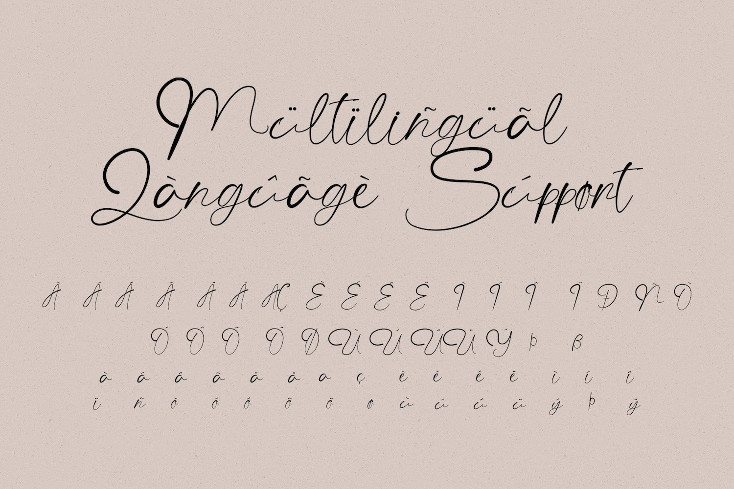 The Angellica - Modern Calligraphy Font example image 14