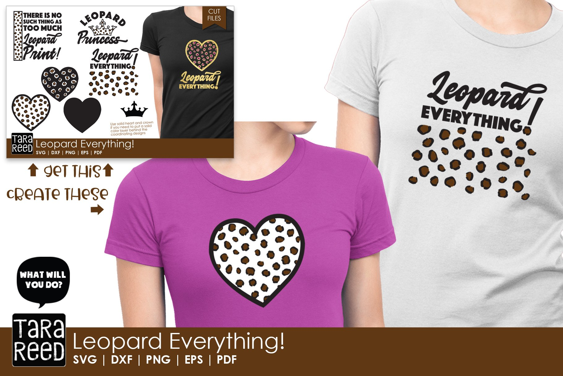 Leopard Everything Leopard Print Svg And Cut Files 353203 Cut Files Design Bundles