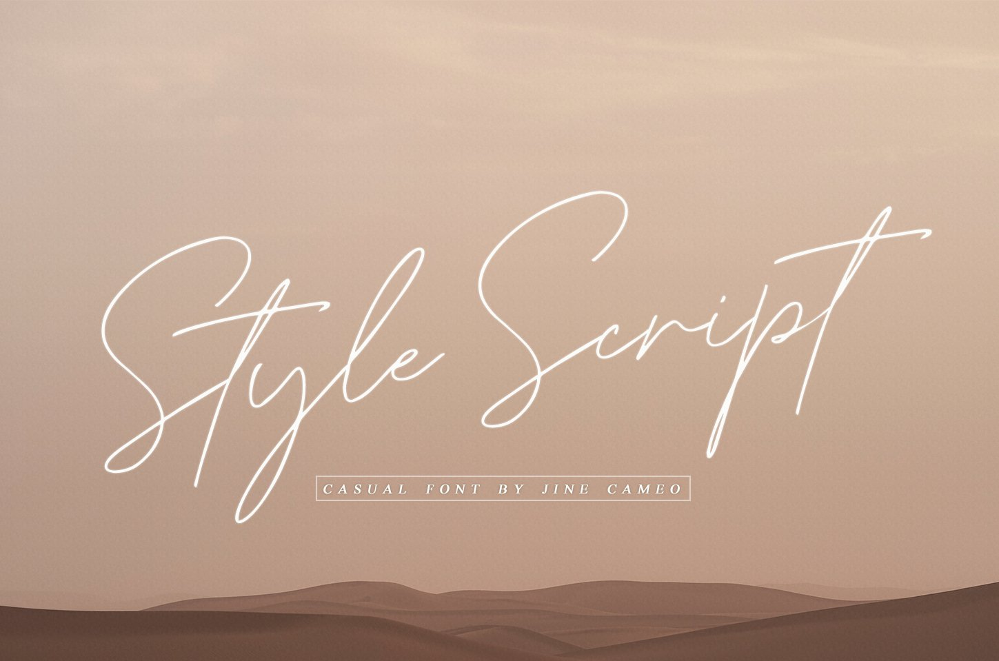 Style Script - Casual Font example image 1