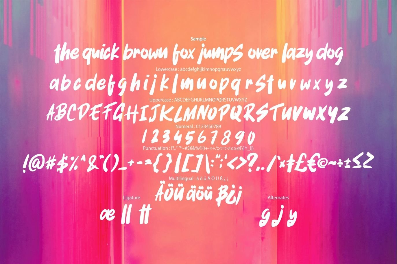 Rafale | Bold Font example image 6