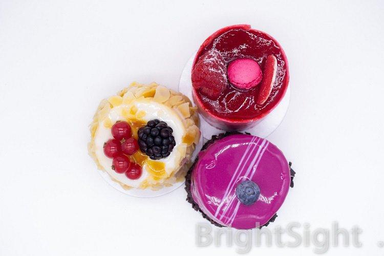 Three cakes example image 1