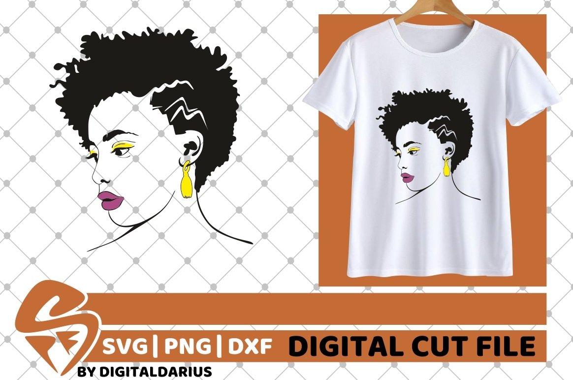 107x Black Woman Designs Bundle SVG, Black Queen, Melanin example image 10