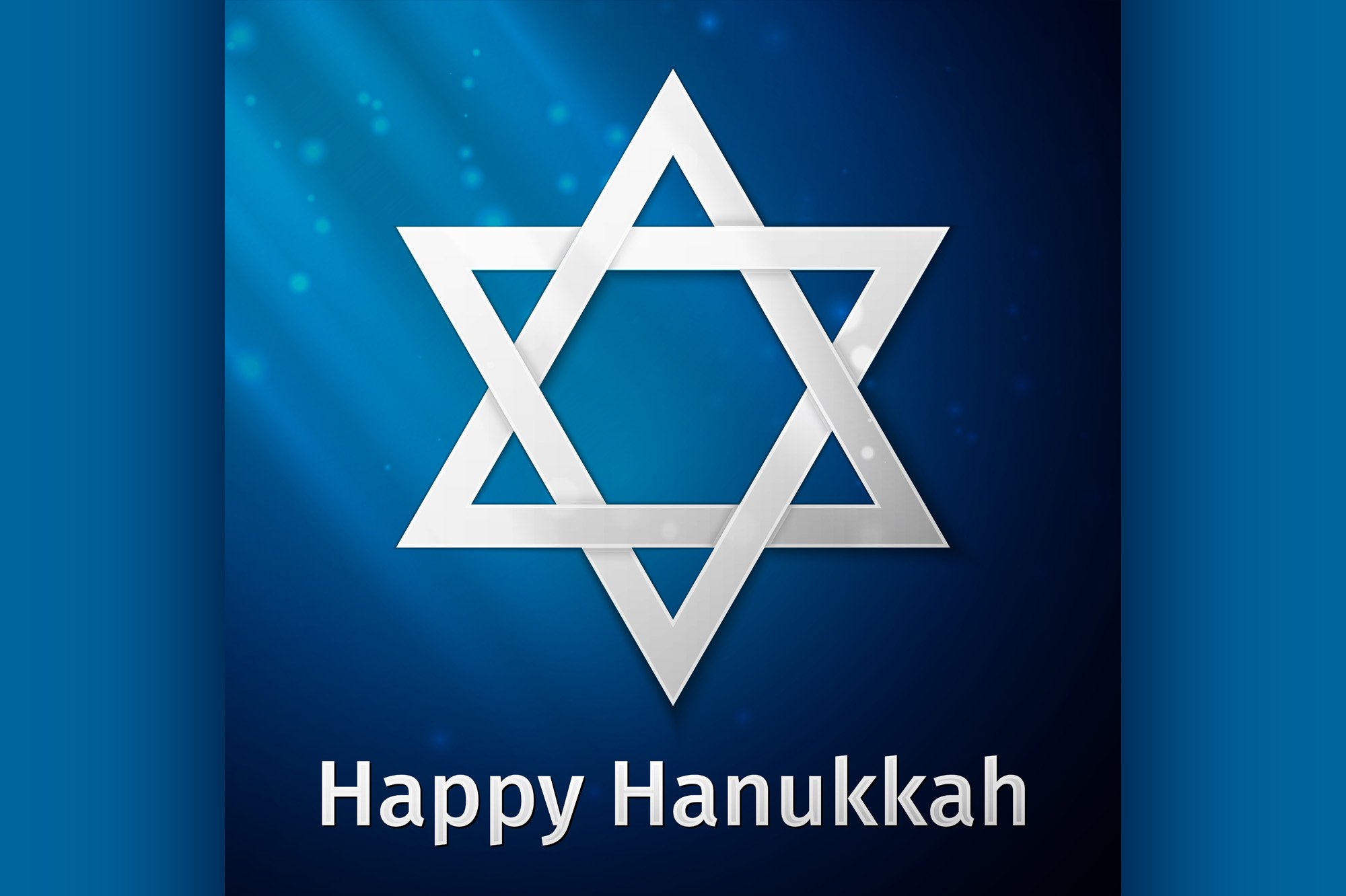 Happy Hanukkah holiday background example image 1