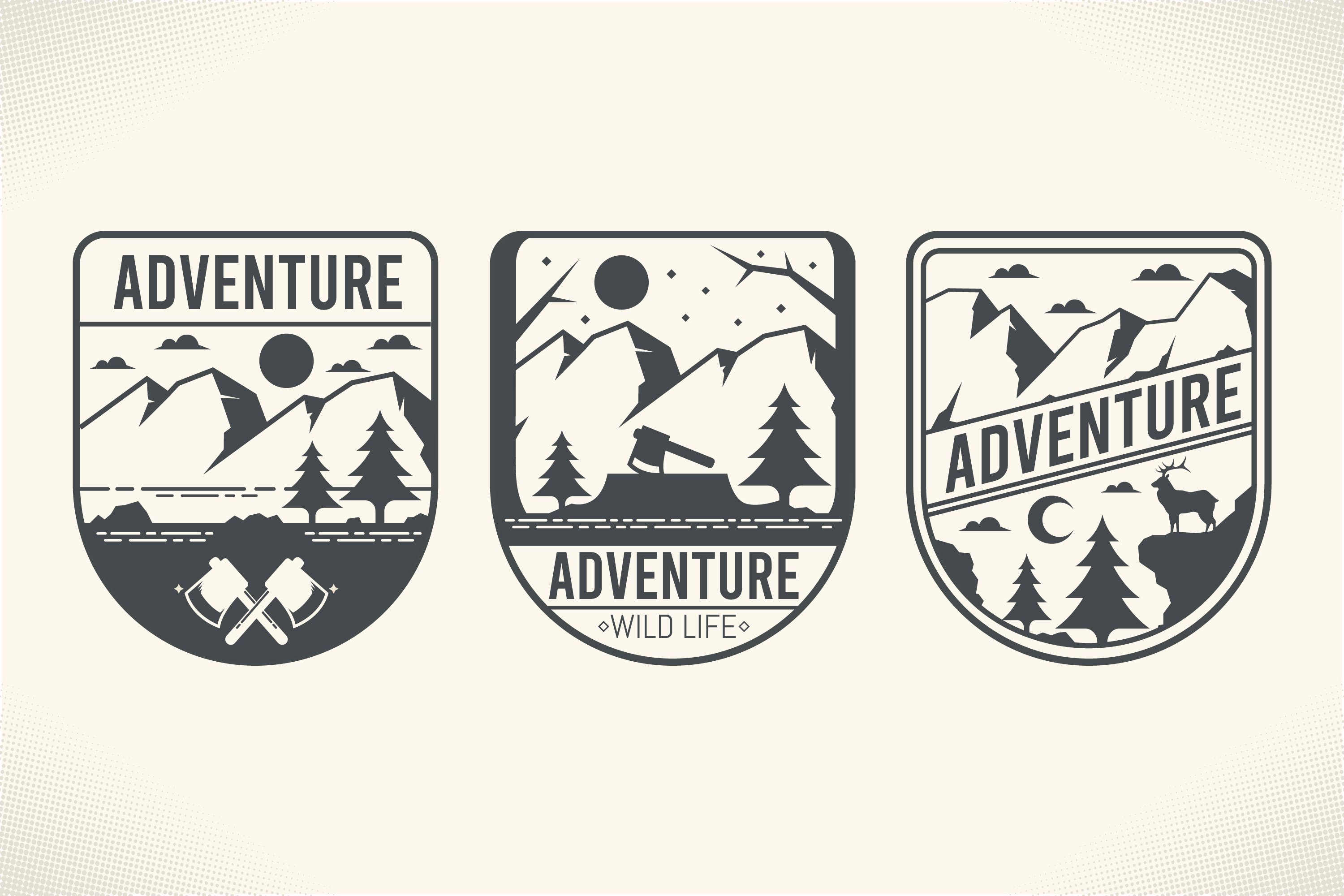Adventure Label Collection example image 1