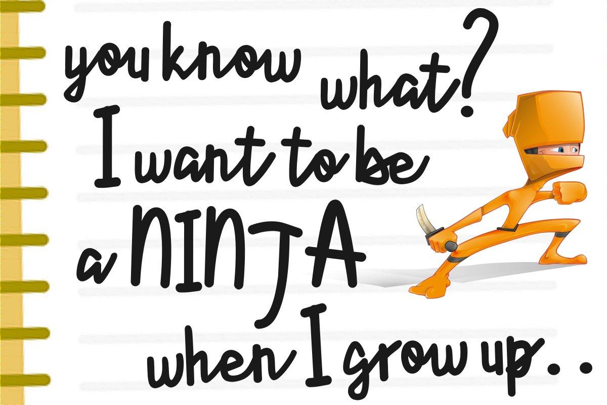 Lyonetta Handwriting example image 5