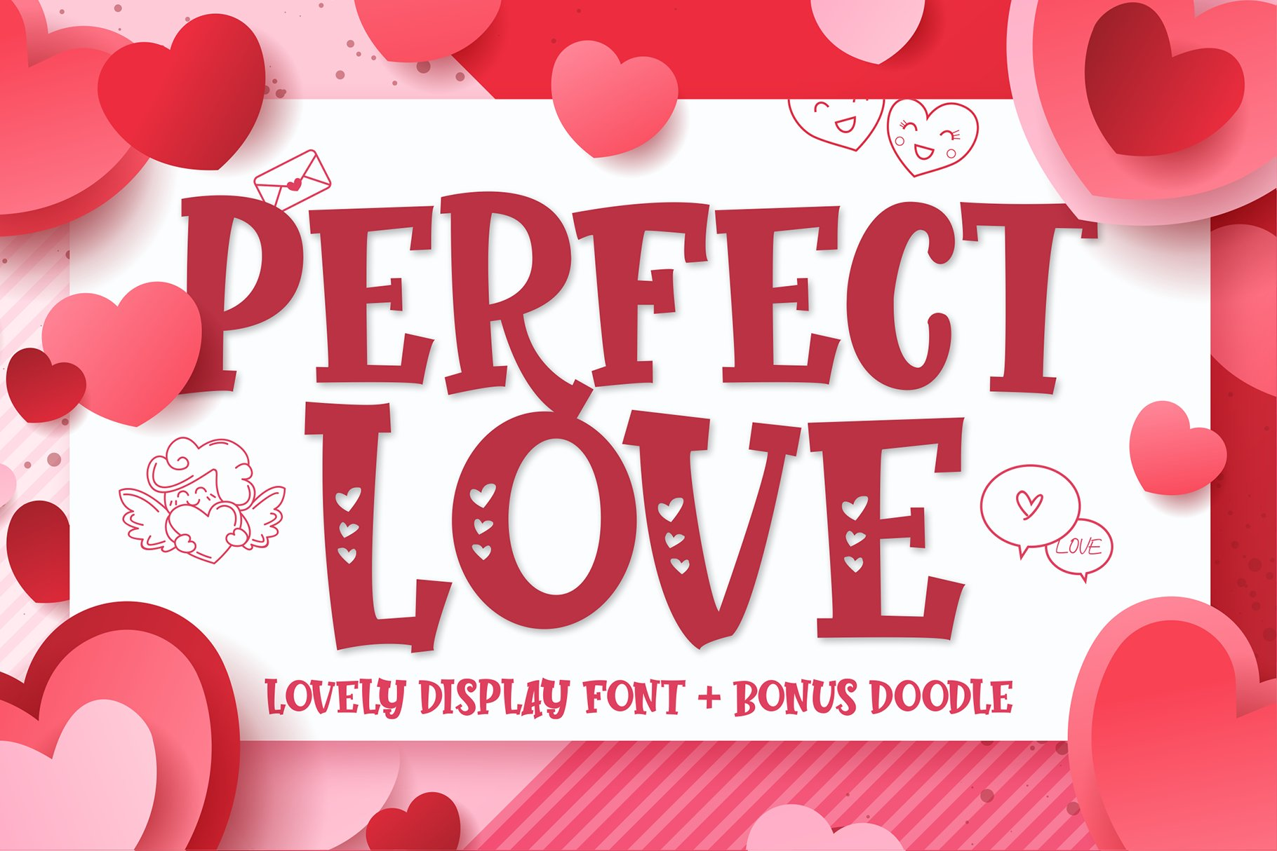 Perfect Love   Bonus Doodle example image 1