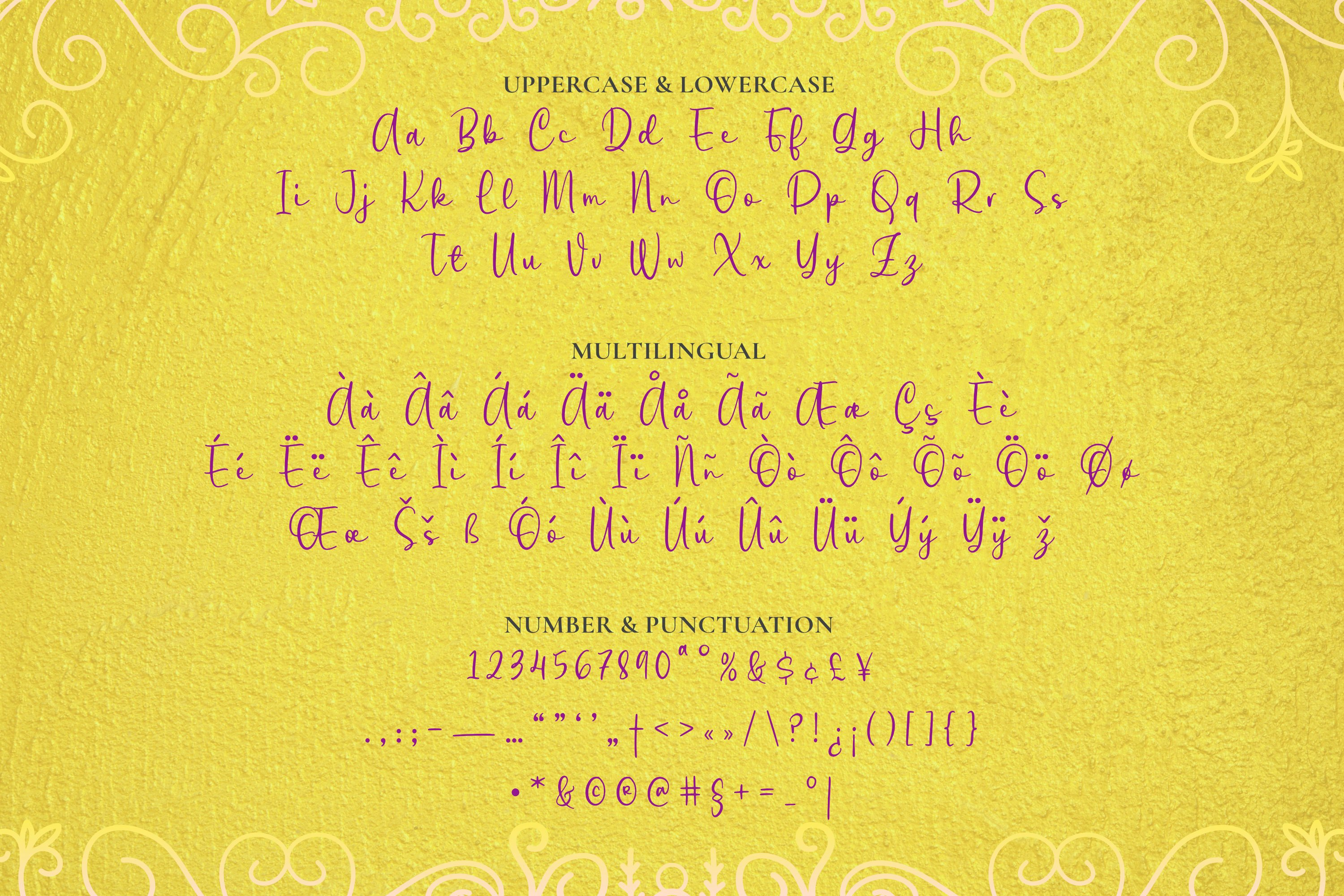 Clutine Font example image 5