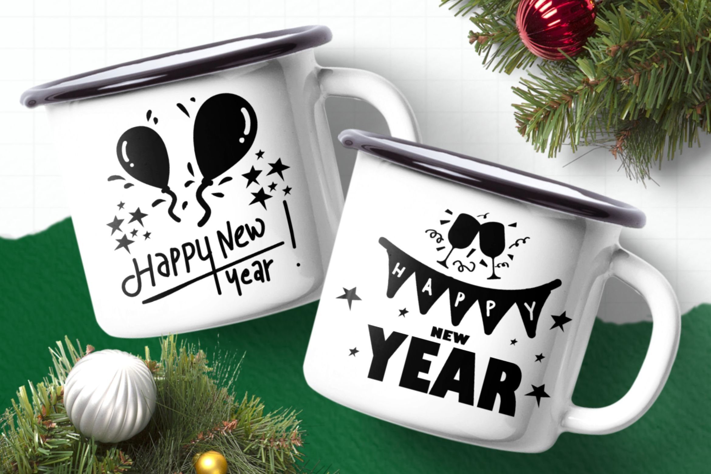 New Year Dingbats example image 2