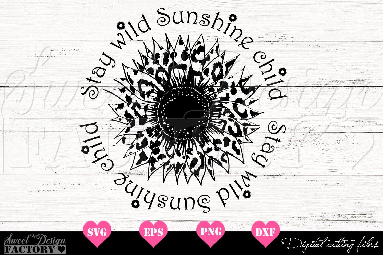 Download Sunflower leopard print Svg (566906) | Cut Files | Design ...
