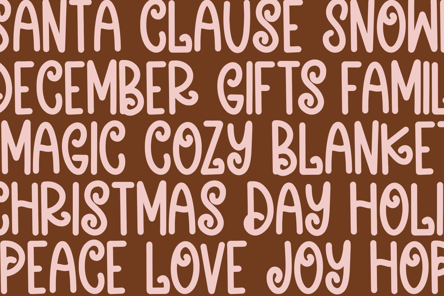 Christmas Sparkle - A Fun Handwritten Font example image 3