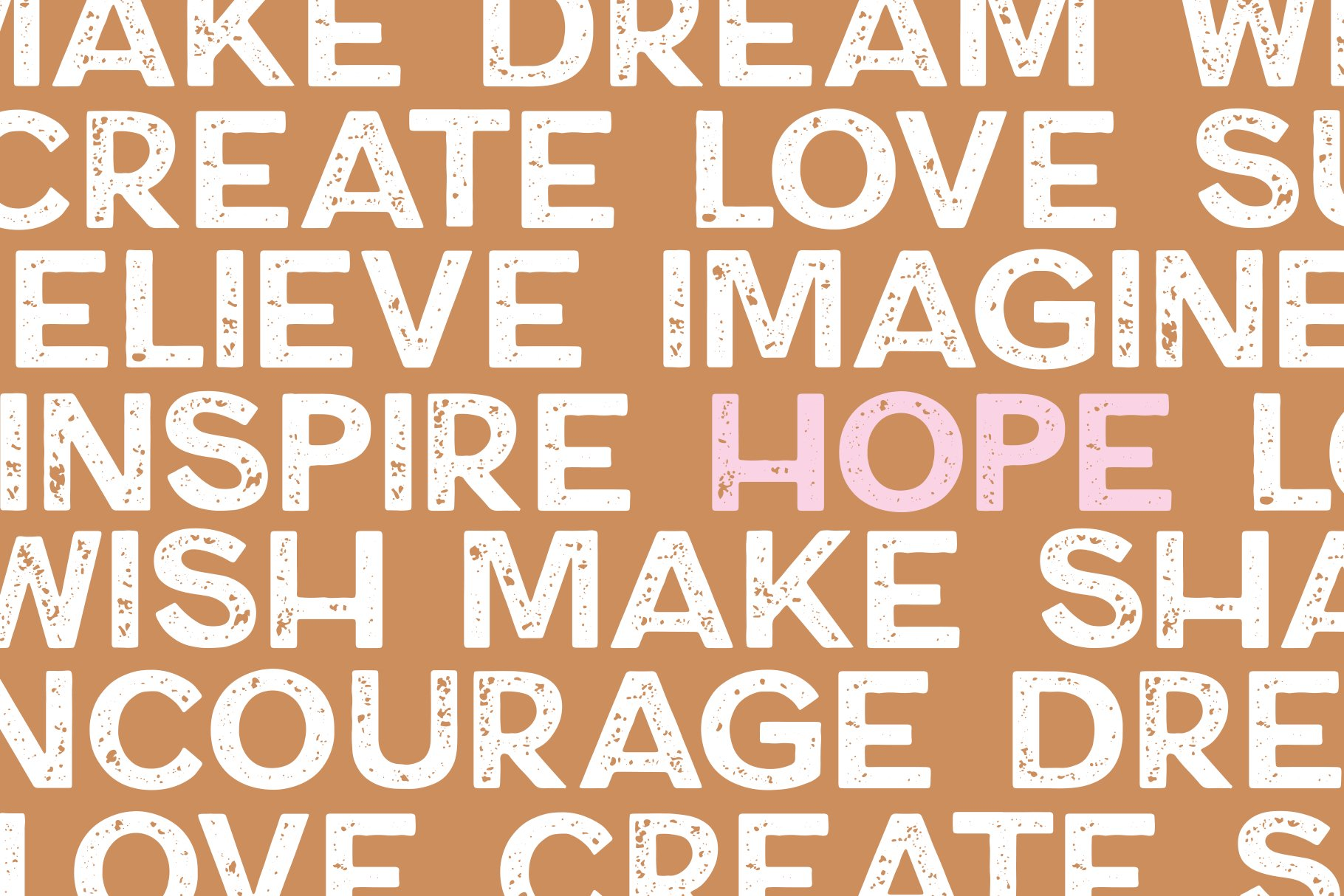 Dream Maker - A Distressed Font example image 2