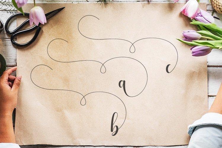 Web Font Alyshia Script example image 8