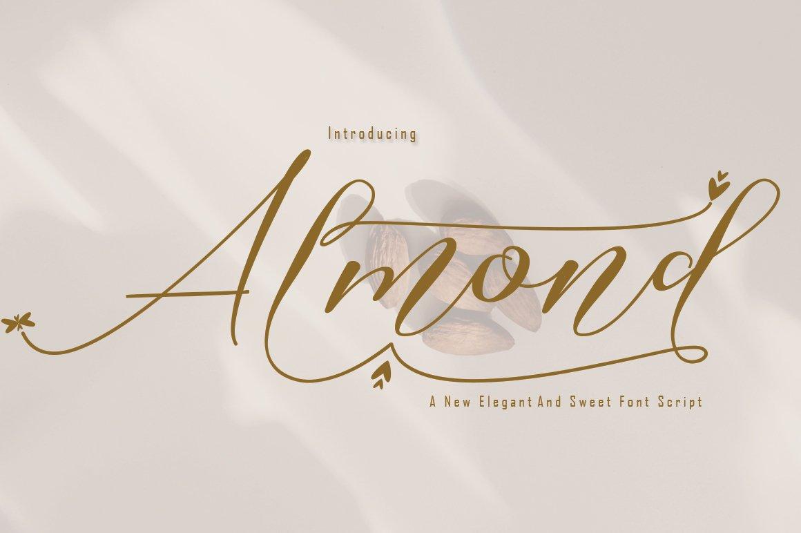 Almond example image 1