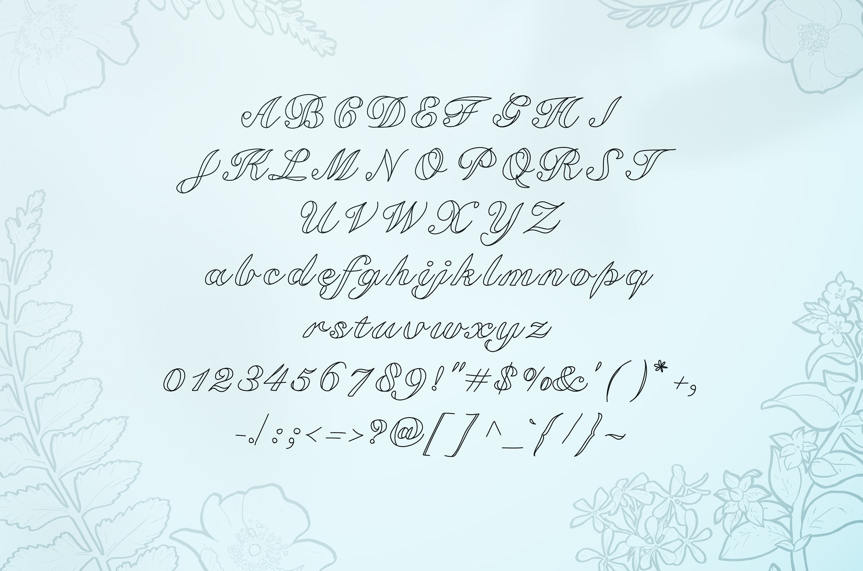 Kawka font example image 3