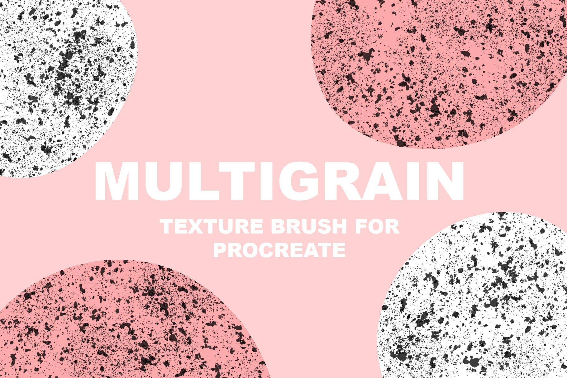 Multigrain brush for procreate example image 1