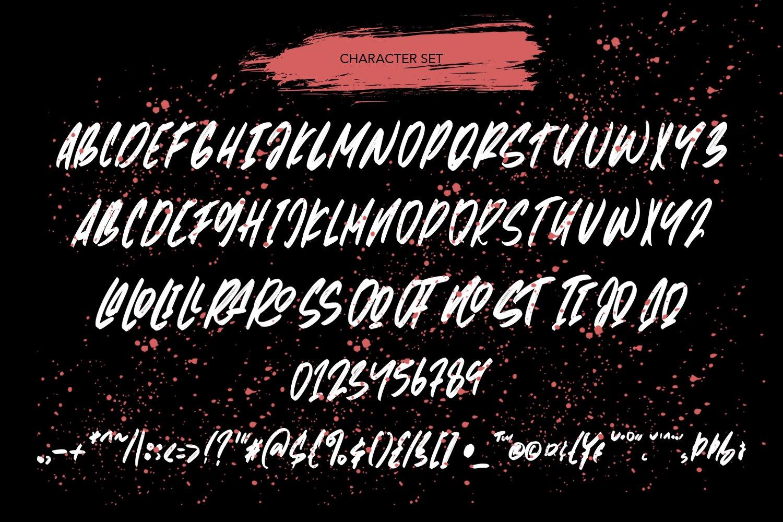 Metropolis - Handwritten Brush Font example image 4