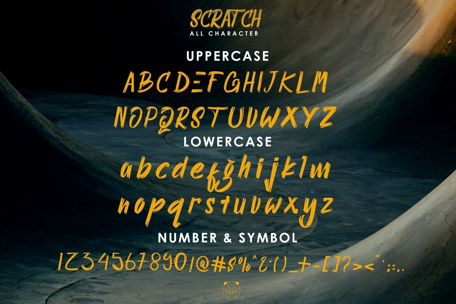 Scratch Autencthic Display Font example image 4
