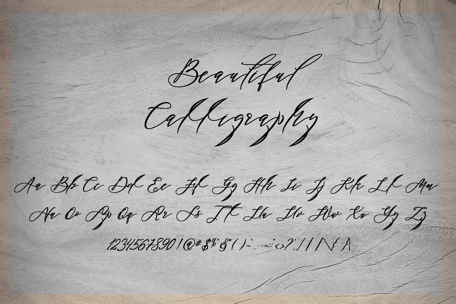 Black Thise Script example image 5