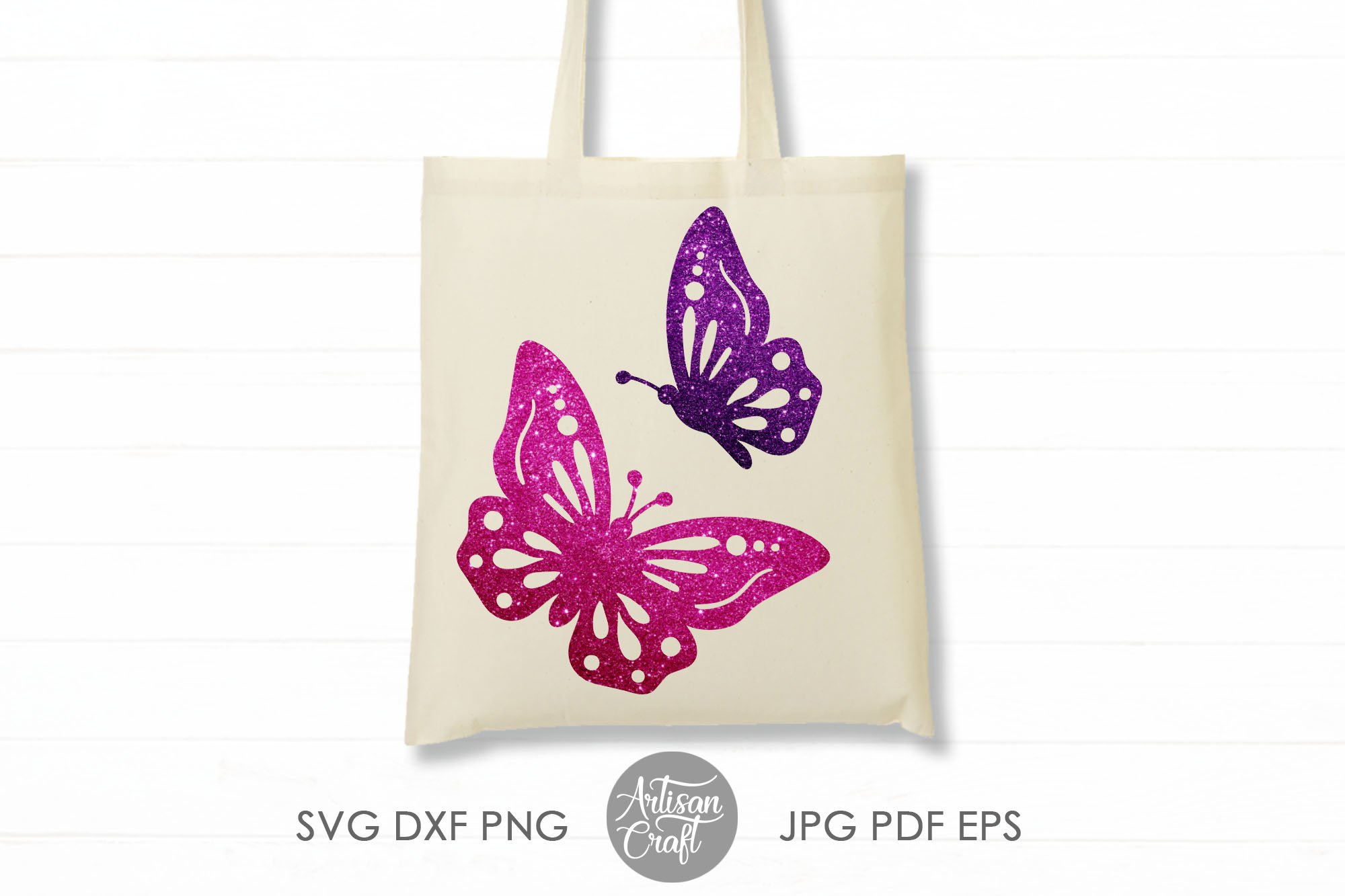 Butterfly clipart, butterfly SVG, cut files, layered svg example image 5