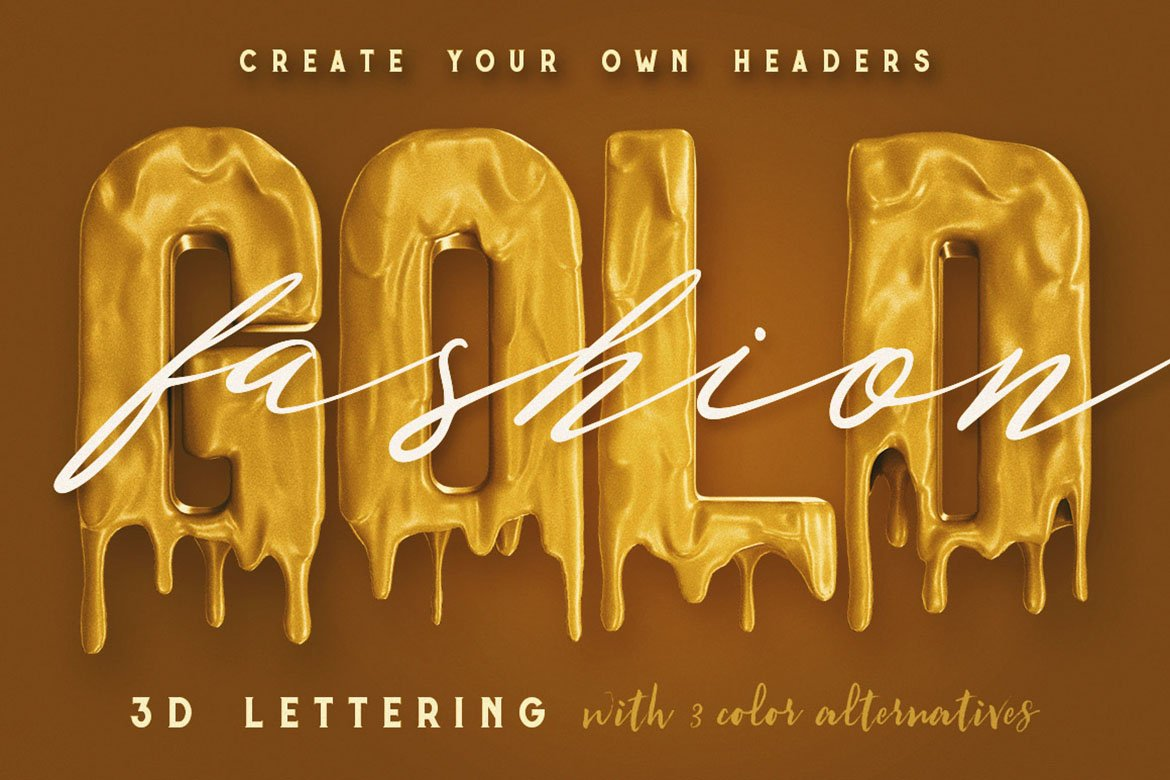 Painting On Invisible - 3D Lettering example image 5
