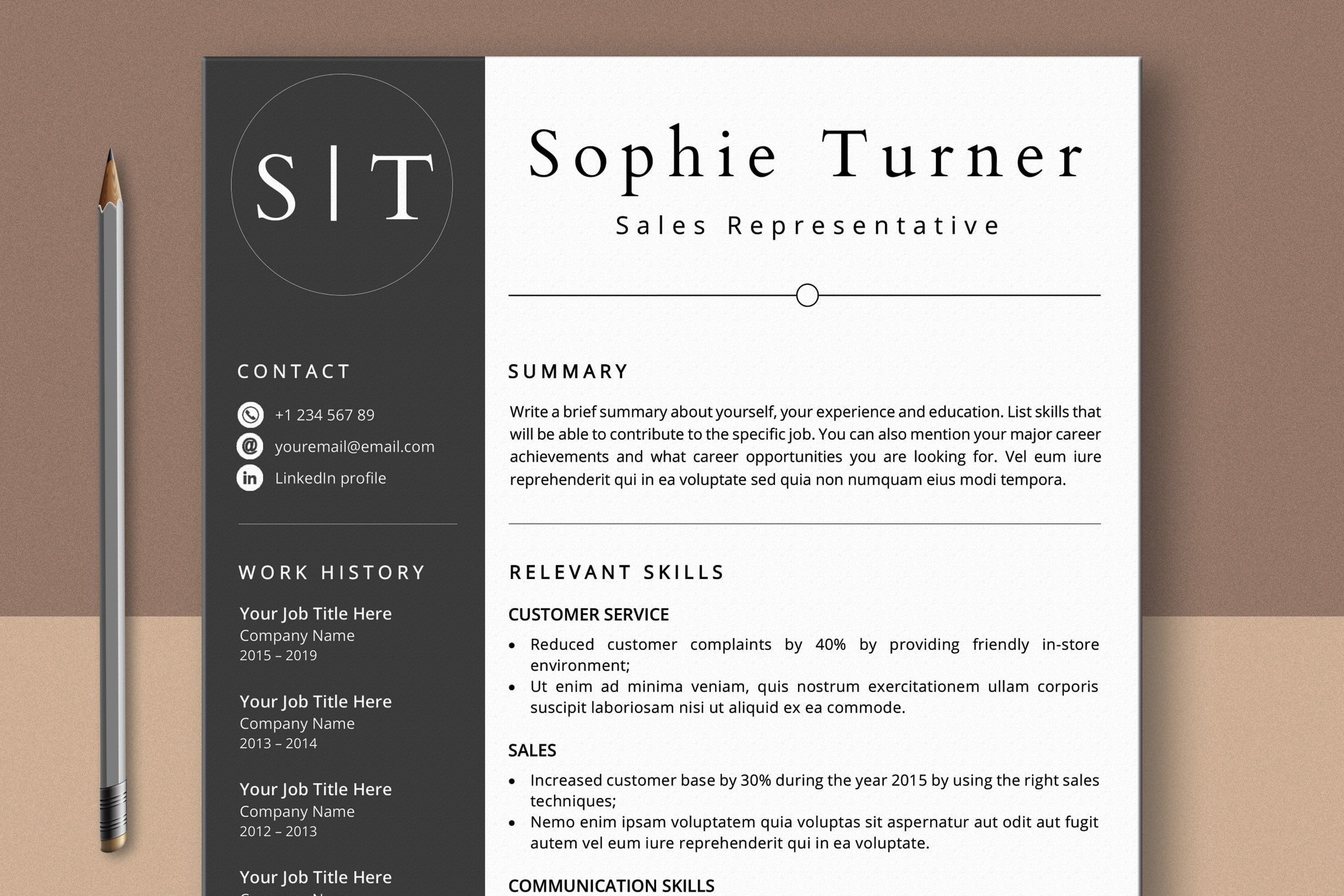 Functional Cv Template from i.fbcd.co