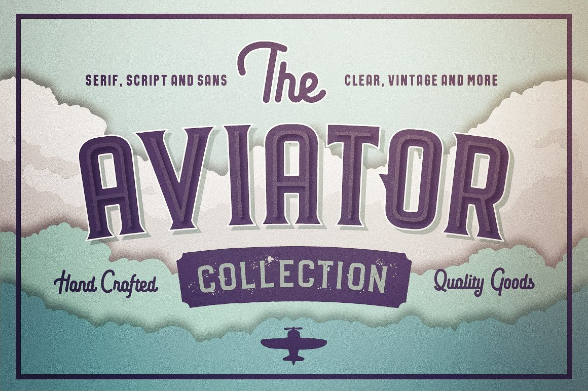 Huge Typographic Pack 60 Logos ! example image 11
