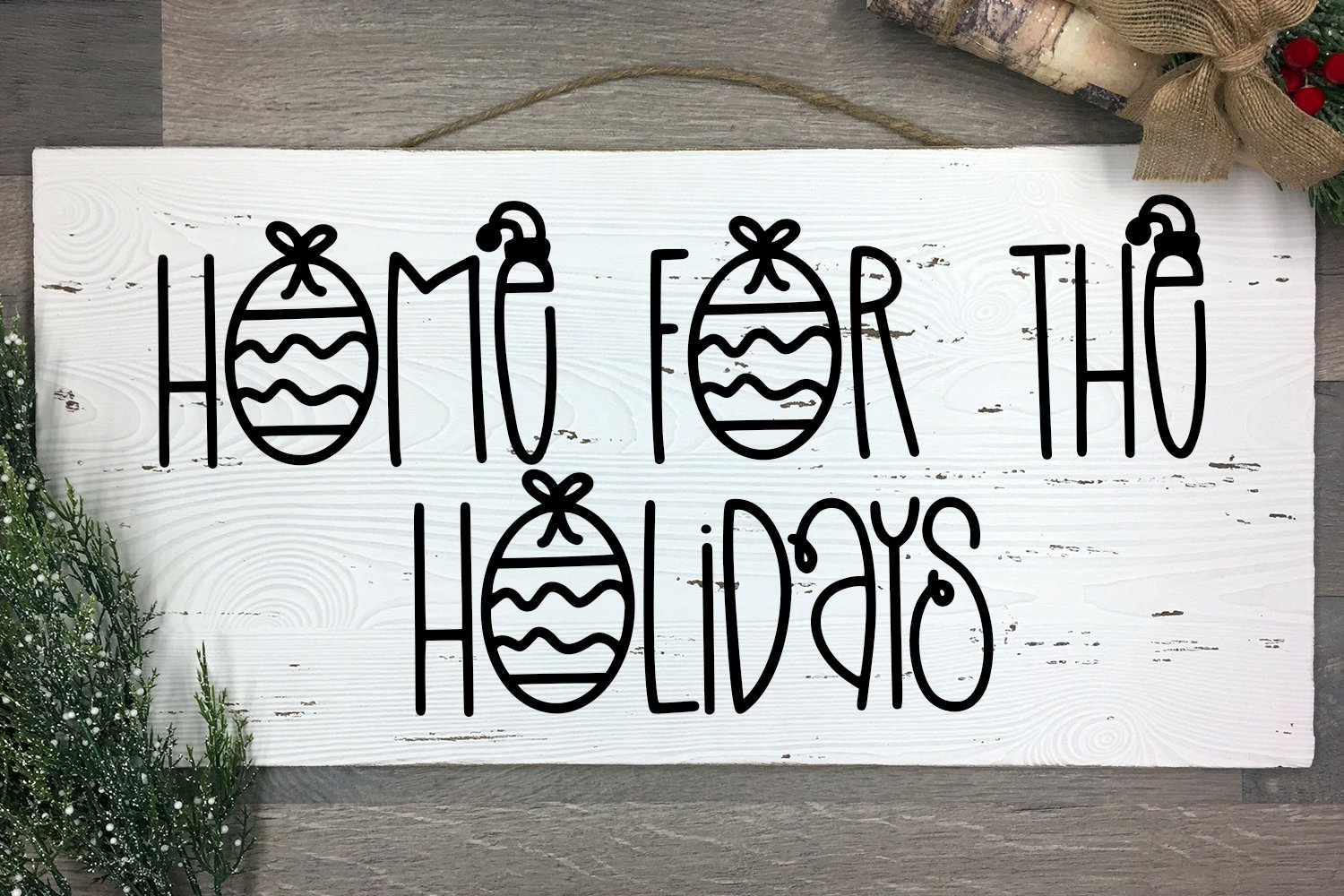 Holiday Sparkle - A Hand-Lettered Christmas Font example image 2