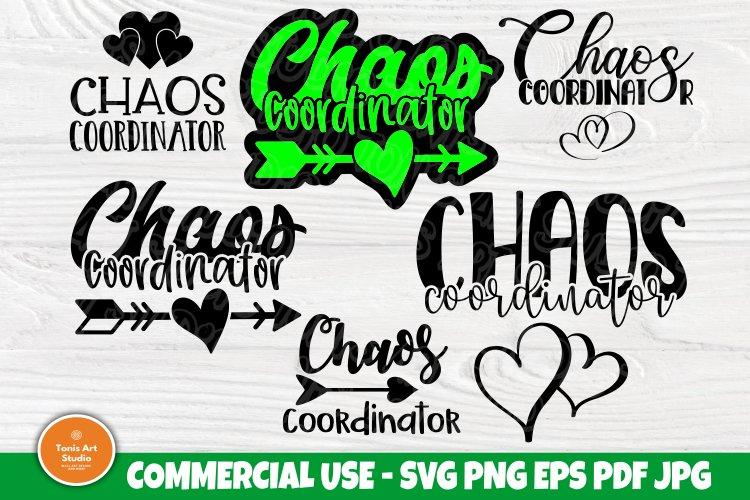 Chaos Coordinator Svg Bundle Mom Life Svg Svg Cut Files 552643 Cut Files Design Bundles