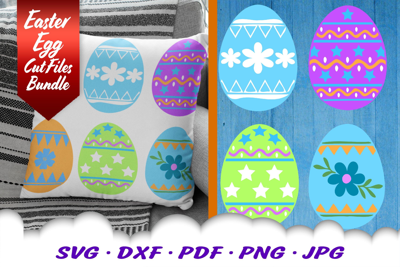 Easter Eggs Svg Dxf Cut Files Bundle 428756 Svgs Design Bundles