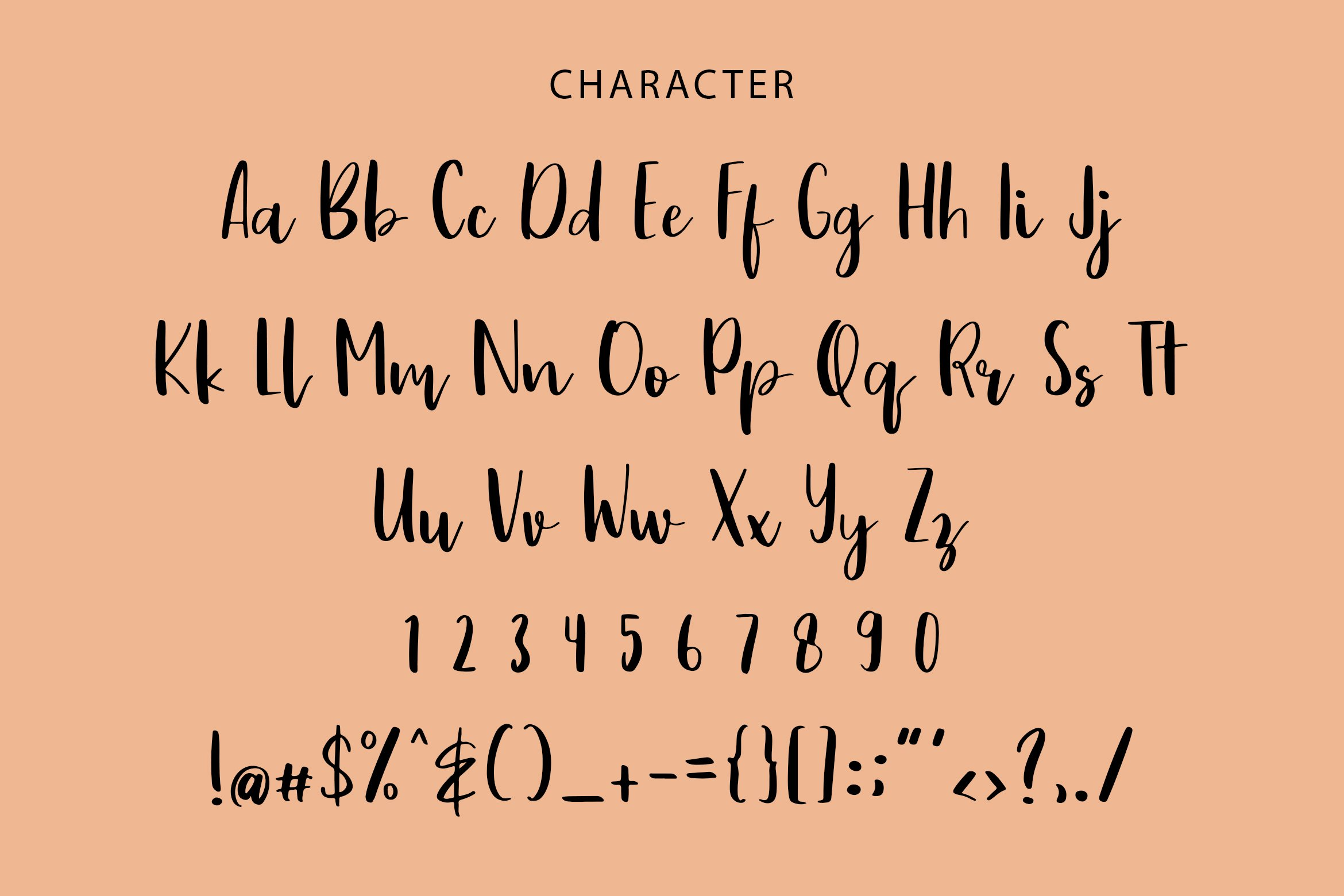 Drawing Book Modern Script Font example image 2