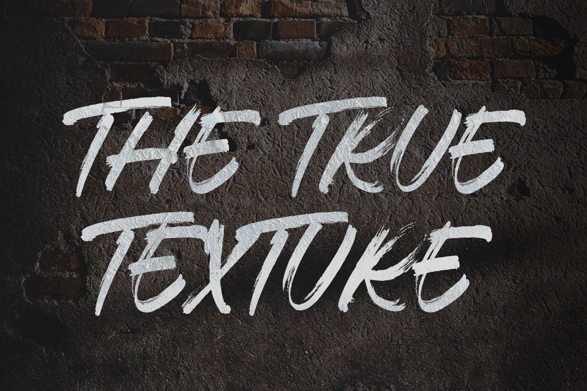 Thosca Brush - Display Brush Font example image 4