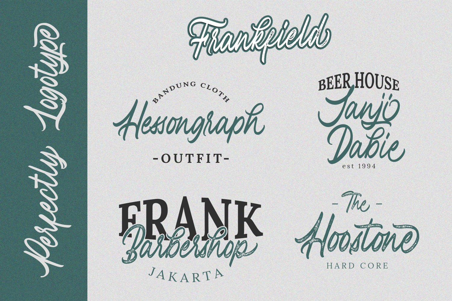 Frankfield Font example image 2