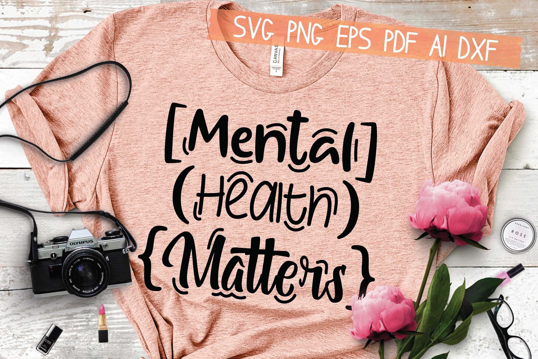digital download mental health svg SVG  file for cricut Everything will be fine SVG