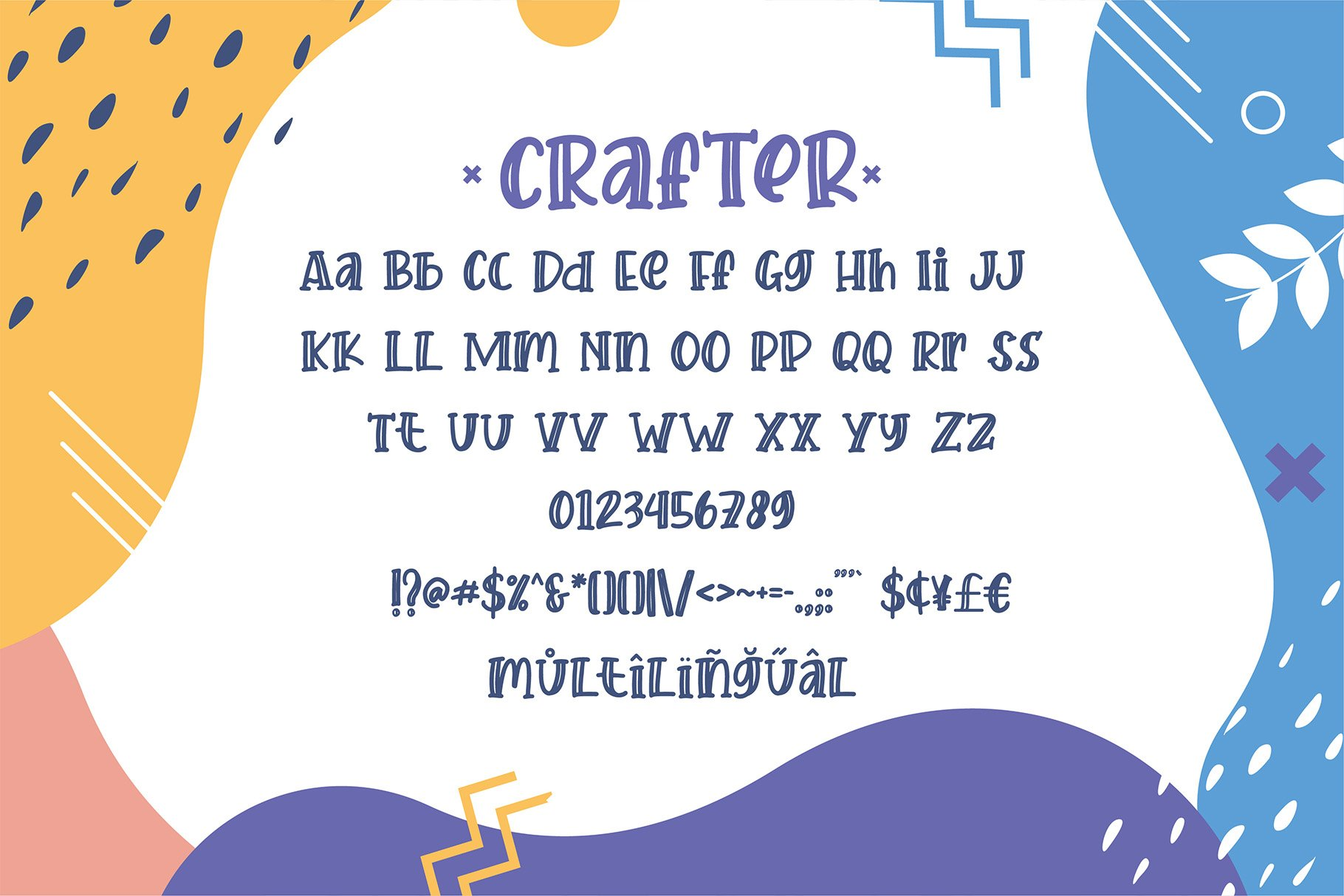 Crafter Font Duo - Best Seller example image 4