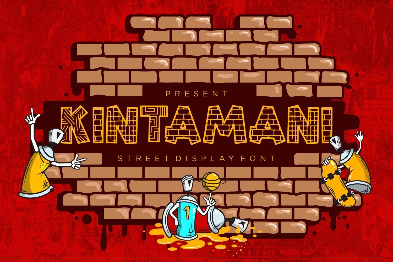 Kintamani - Street Display Font example image 1