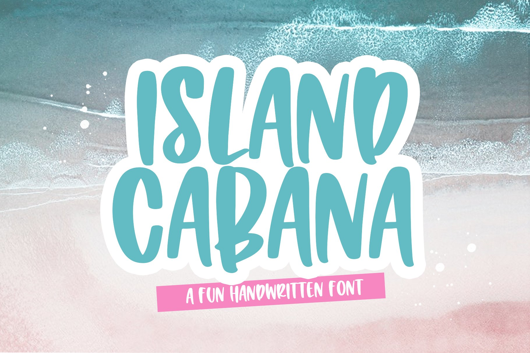 Island Cabana - A Fun Handwritten Font example image 1