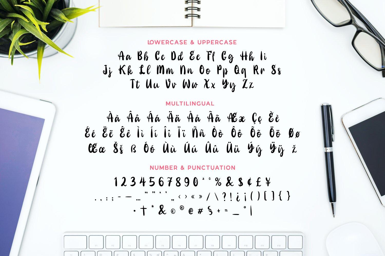 Lagante - Stylish & Modern Script Font example image 5