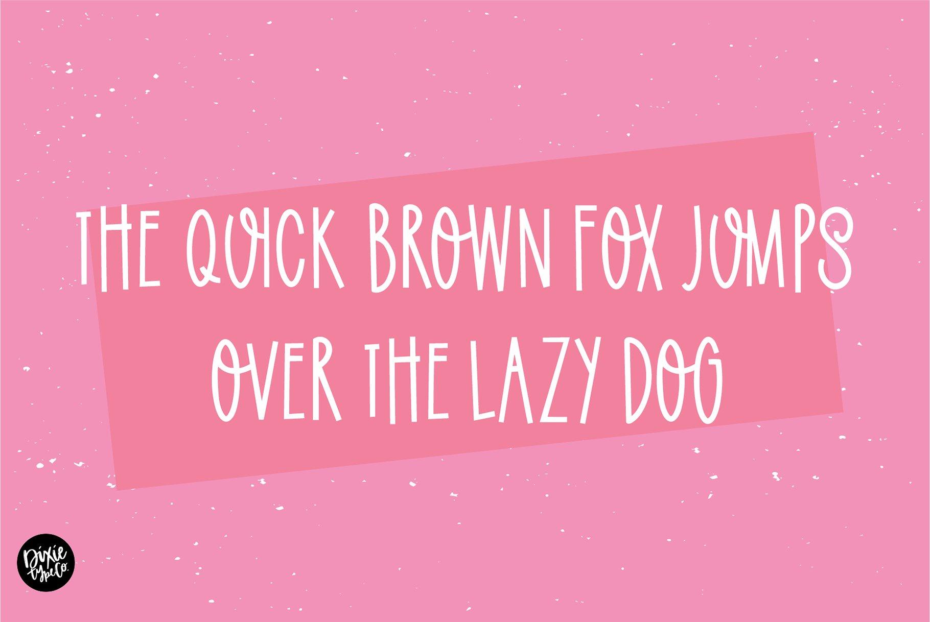 SUMMER SOLSTICE a Cute Sans Serif Font example image 4