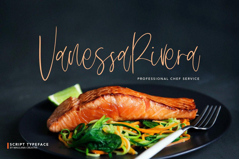 Delycious Script Restaurant Typeface example image 8