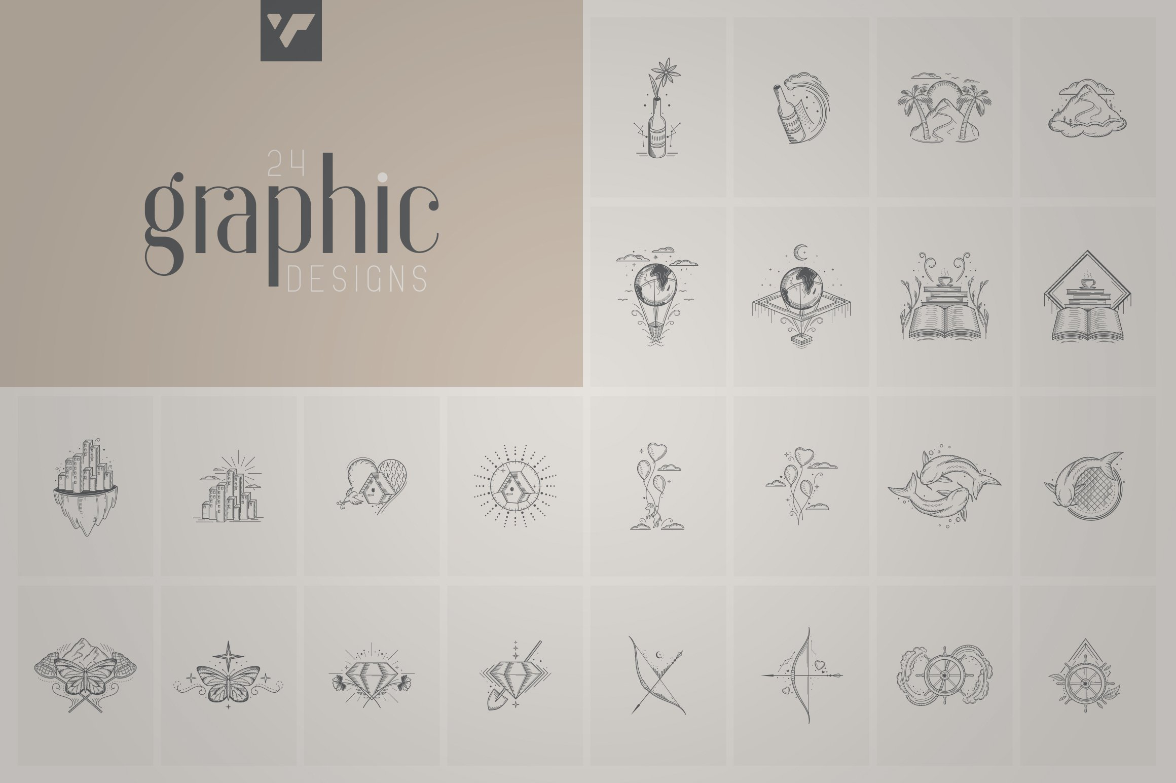 Fantastic Collection - Fonts, Logos example image 2