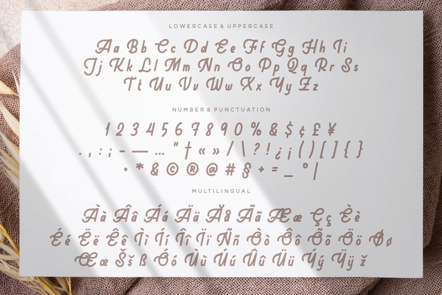 Goestea - Lovely Display Font example image 2