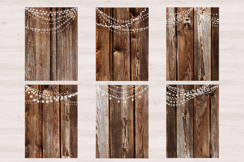 Wood & Lights - Rustic Wedding example image 3